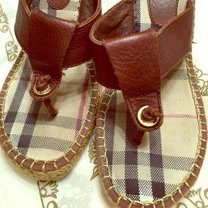 Burberry Espadrille Sandals